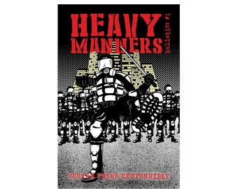 Heavy Manners Bulletin 1 Comic