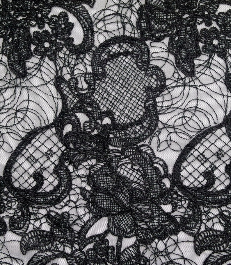 Prom Dress Fabric Embroidery Tulle Lace Fabric Evening Gown Lace Sell By The Yard Mesh French Lace Fabric Wedding Dress Fabric