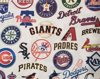 Rare MLB Team New York Yankee Vintage Baseball Fabrics 1//4 Yards 100/% Cotton