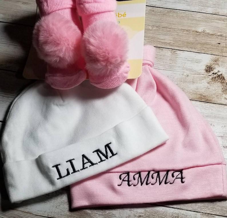 Newborn Custom Hat