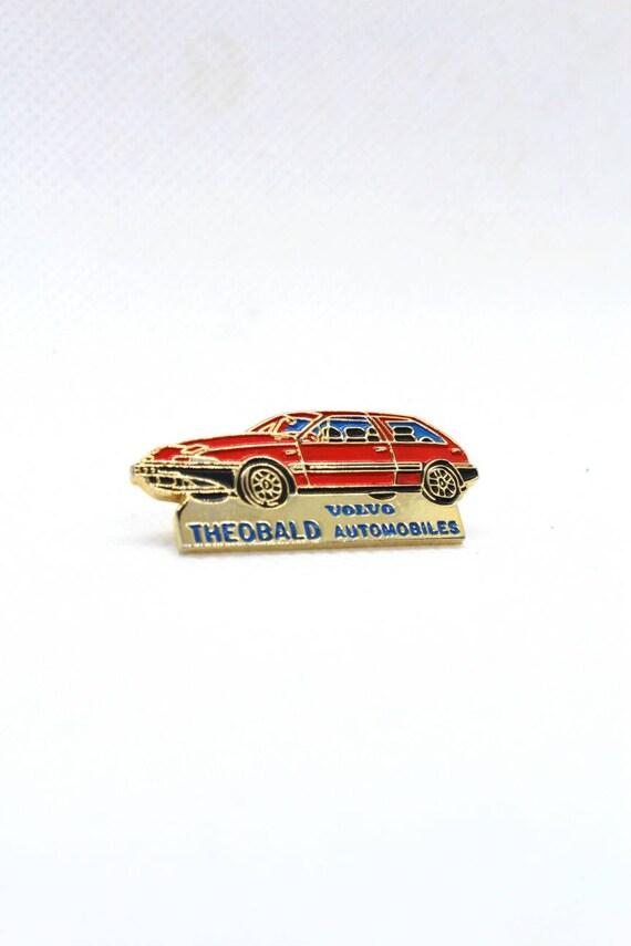 VOLVO Logo 12x2mm original vintage 1980s historical car lapel pin