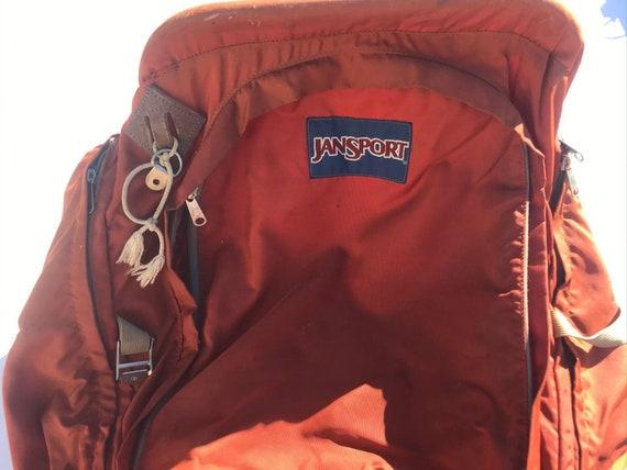 Vintage JANSPORT External Aluminum Frame Backpack