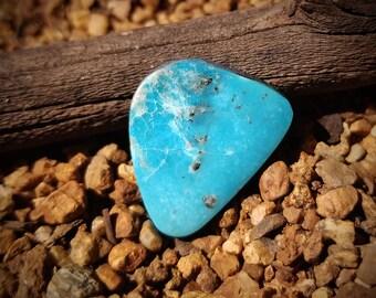 Natural Kingman Turquoise Cab 14 carats American Arizona Cabochon