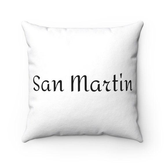 Spun Polyester Square Pillow - 107- for SouthCounty, Morgan Hill, Gilroy, San Jose, San Martin, San Jose, Bay Area