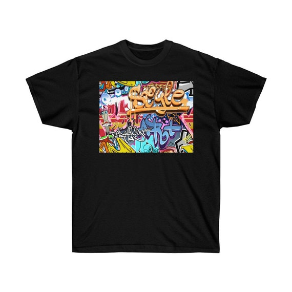 Unisex Ultra Cotton Tee - graffiti, urban, cool, summer, spring, vacation, city, young, gift, t-shirt