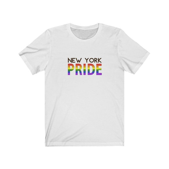 Unisex Jersey Short Sleeve Tee - show your pride- wear with pride, proud, LGBTQ, couples, same-sex, love is love, gift, diversity, inclusive