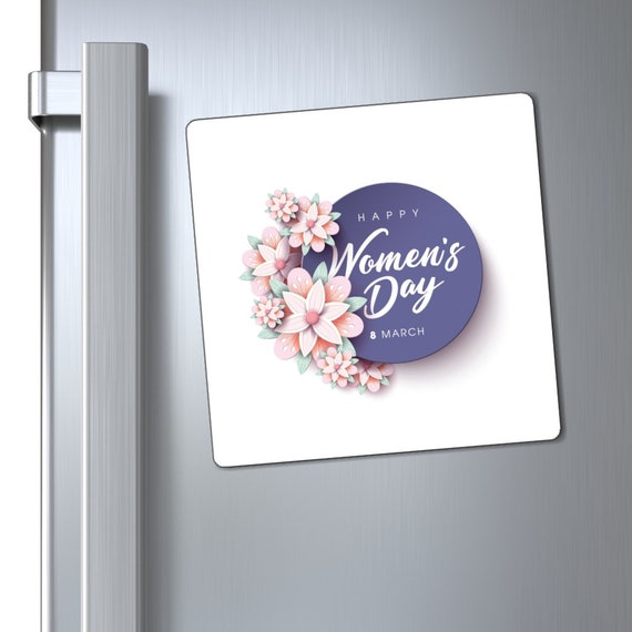 Magnets - woman, women, celebrate, march 8th, women's day, community, pride, march, fight, equality