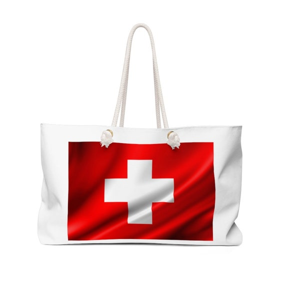 Weekender Bag - show your pride for Switzerland, Suisse, fun, weekend, travel, beach, party, camping, outdoors