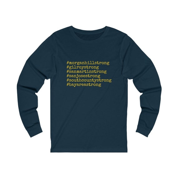 Unisex Jersey Long Sleeve Tee- STRONG-T-060