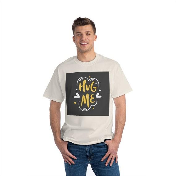 Beefy-T®  Short-Sleeve T-Shirt - vaccinated, fun, funny, vaccine, pfizer, moderna, J&J, liberated, free, covid, humor, hug