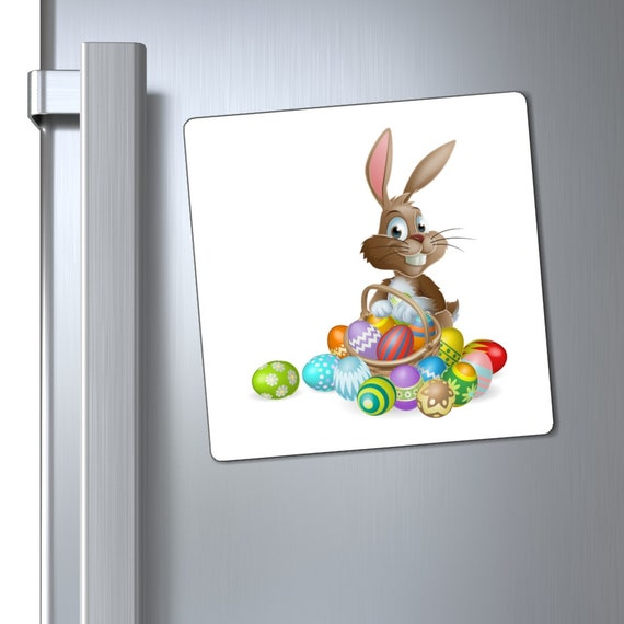 Magnets - easter, happy easter, bunny, rabbit, eggs, celebrate, family, fun, church, kids, children