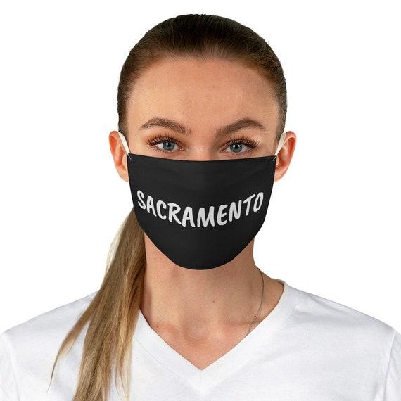 Fabric Face Mask - Sacramento