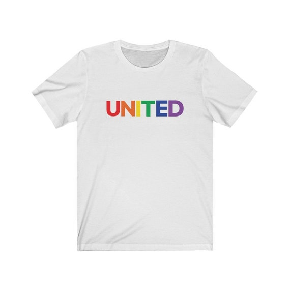 Unisex Jersey Short Sleeve Tee - wear with Pride- wear with pride, proud, LGBTQ, couples, same-sex, love is love, gift, diversity, inclusive