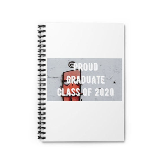 Spiral Notebook - Ruled Line - 7- for graduation, graduates, can get localized, college, high-school, university