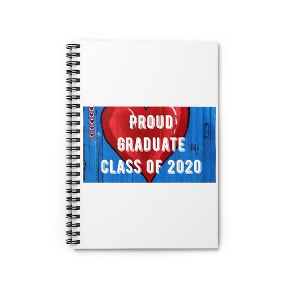 Spiral Notebook - Ruled Line - 8- for graduation, graduates, can get localized, college, high-school, university