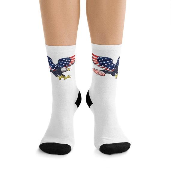 DTG Socks - July 4th, freedom, united, usa, united states, flag, patriotic, celebrate, proud, american