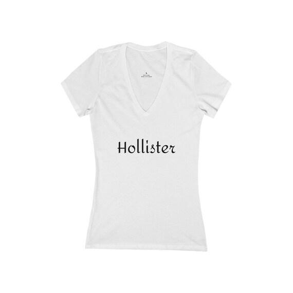 Women's Jersey Short Sleeve Deep V-Neck Tee - 190- for SouthCounty, Morgan Hill, Gilroy, San Jose, San Martin, San Jose, Bay Area