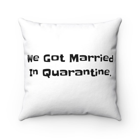 Spun Polyester Square Pillow - 352- love, valentine, couple, engagement, wedding, marriage, shower, gift