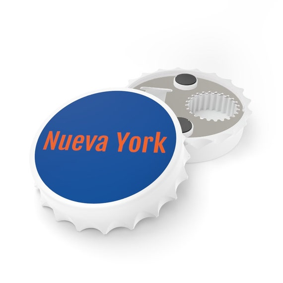 Bottle Opener - Nueva York, NY, New York, birthday, gift, holidays, celebrate, friendship, souvenir, beach, vacation, travel
