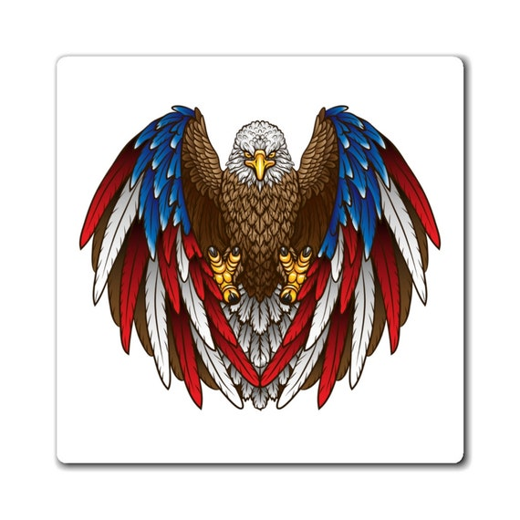 Magnets - July 4th, freedom, united, usa, united states, flag, patriotic, celebrate, proud, american