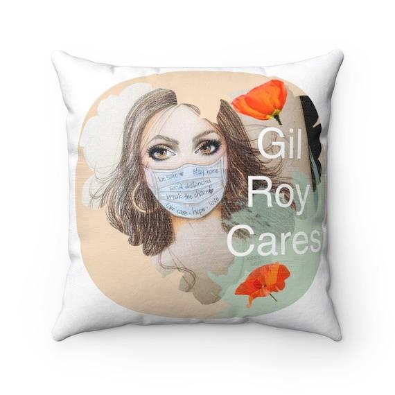 Spun Polyester Square Pillow - P29- for SouthCounty, Morgan Hill, Gilroy, San Jose, San Martin, San Jose, Bay Area