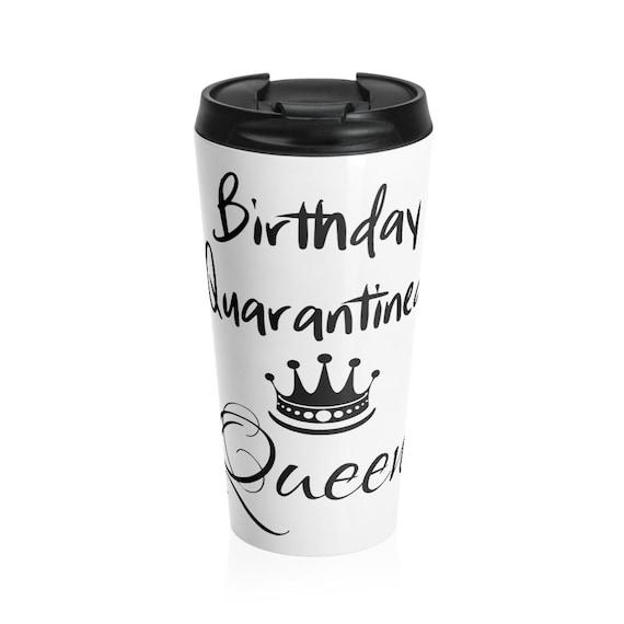 Stainless Steel Travel Mug - 5- happy birthday, congratulations, getting older, gift idea, fun, funny, birthday