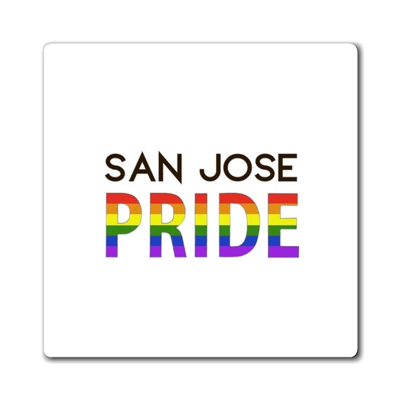 Magnet - show your pride- wear with pride, proud, LGBTQ, couples, same-sex, love is love, gift, diversity, inclusive