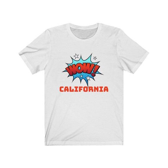Unisex Jersey Short Sleeve Tee - California- summer fun, gift idea, vacation, holidays, travel, beach