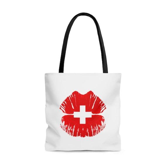 Tote Bag- Swiss wear- for Switzerland lover, Swiss-Americans, Swiss-Abroad, Swiss