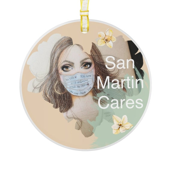 Glass Ornament - San Martin