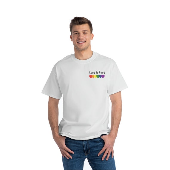 Beefy-T®  Short-Sleeve T-Shirt - show your pride, lgbt, June, summer, gay, fun, weekend, travel, beach, party, camping, outdoors