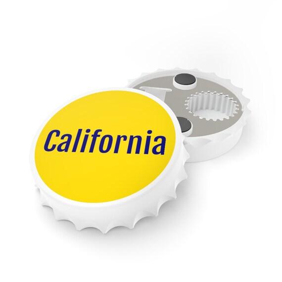 Bottle Opener -California, birthday, gift, holidays, celebrate, friendship, souvenir, beach, vacation, travel