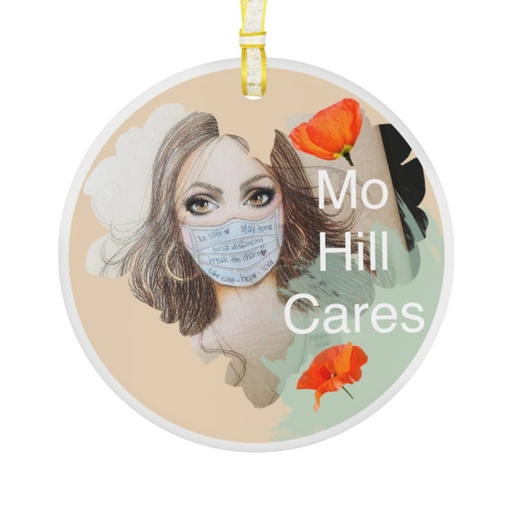 Glass Ornament - Morgan Hill