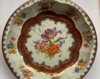 1971 Daher-Decorated Ware Tin Fruit Bowl
