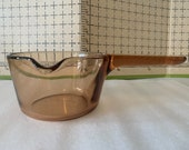 Vintage Corning Ware Vision 0.7 Liter Glass Pour Pot Made in France