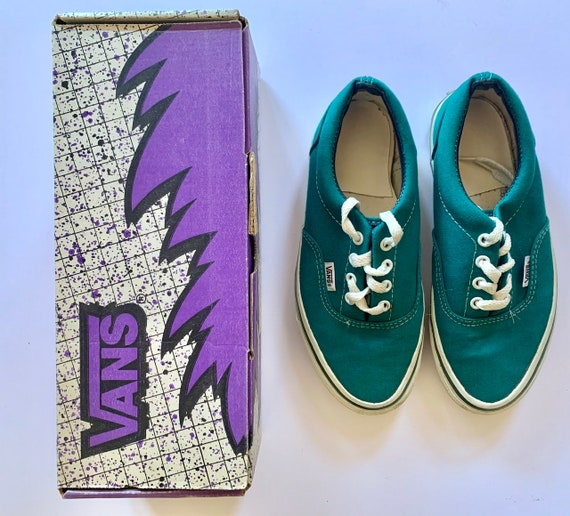 Rare Vintage VANS Skate shoes low canvas made in U