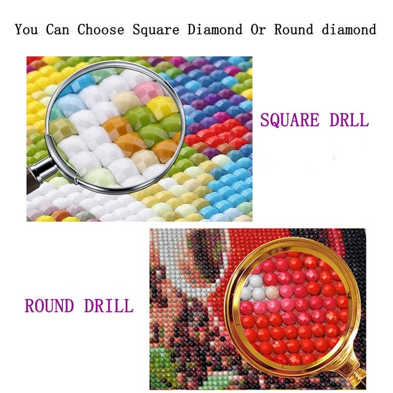 5D DIY Full Drill Square Round Diamond Painting Kit,Disney Donald Duck Cross Stitch,Diamond Embroidery Wall Painting Home Decor NEW 2021