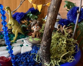 Kids Fairy Garden Kit with Good Dinosaur Toys Magic Garden Kit Disney Unique Gift Nature Toy Arlo and Spot