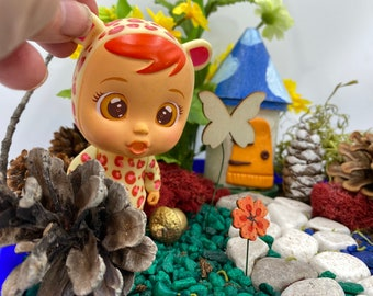 Kids Fairy Garden Kit featuring Cry Baby toys Magic Garden Kit Unique Kids Gift Nature Toy