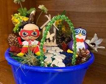 Kids Fairy Garden Kit Featuring Ryan's World Toys Magic Garden Unique Kids Gift Nature Toys