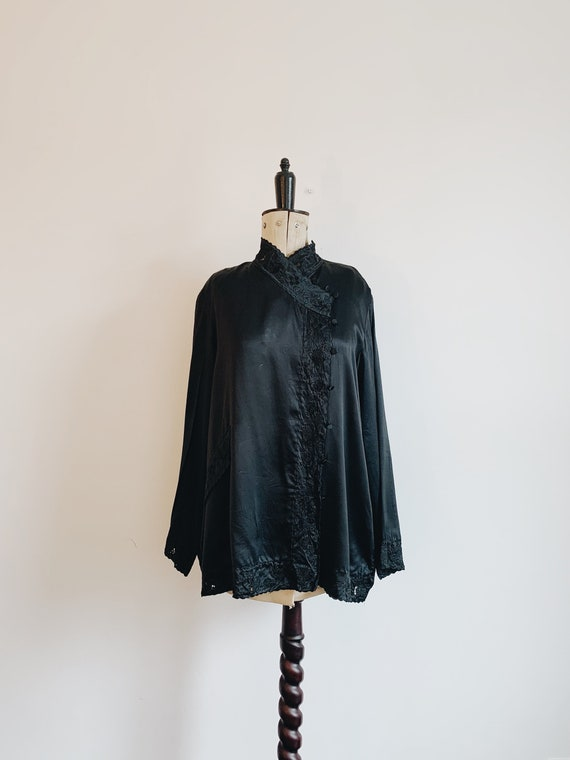 Silk Kimono Shirt