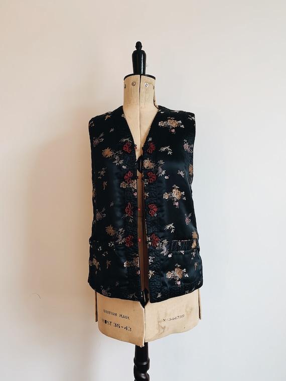 Chinese reversible waistcoat