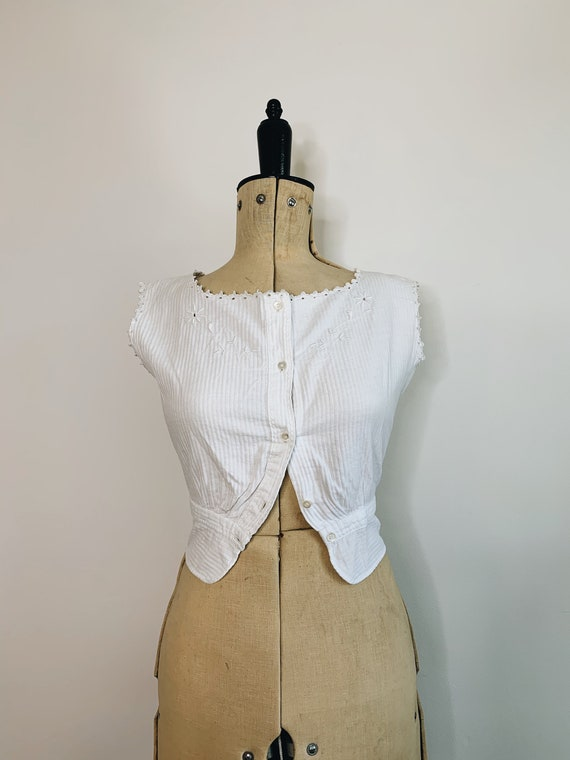 Edwardian Corset camisole - image 2