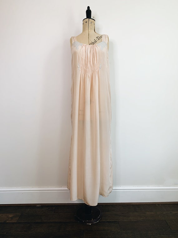 1920s smoked nightdress