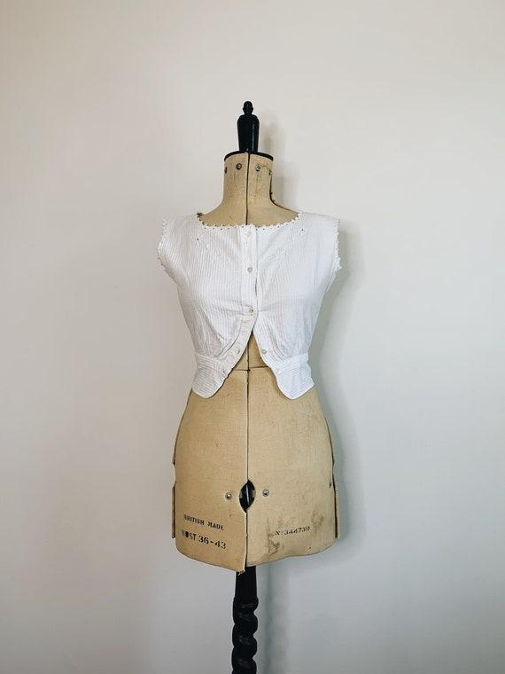 Edwardian Corset camisole - image 1