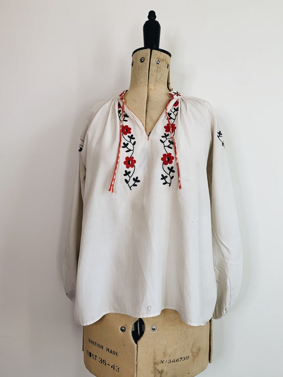 Peasant Embroidered Blouse