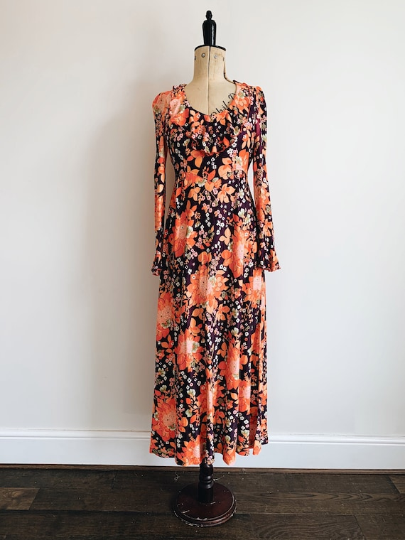 70s Funky floral dress