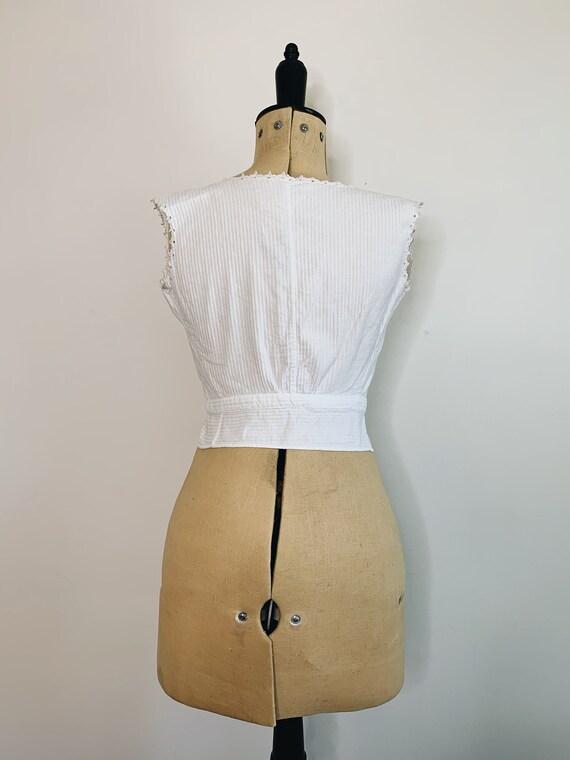 Edwardian Corset camisole - image 6