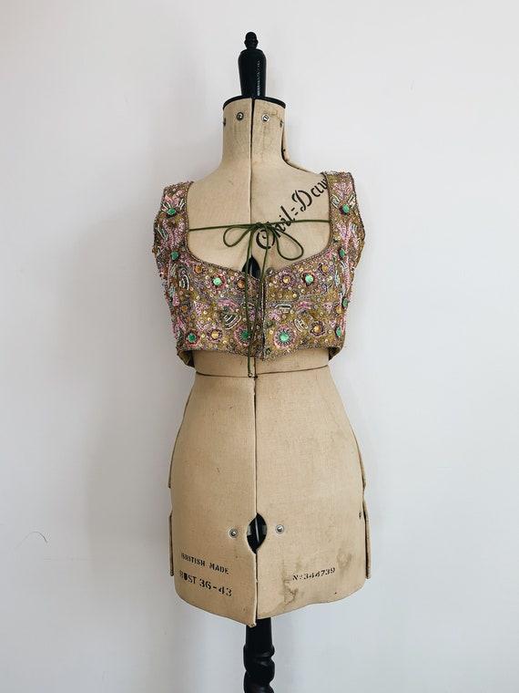 Indian embellished waistcoat