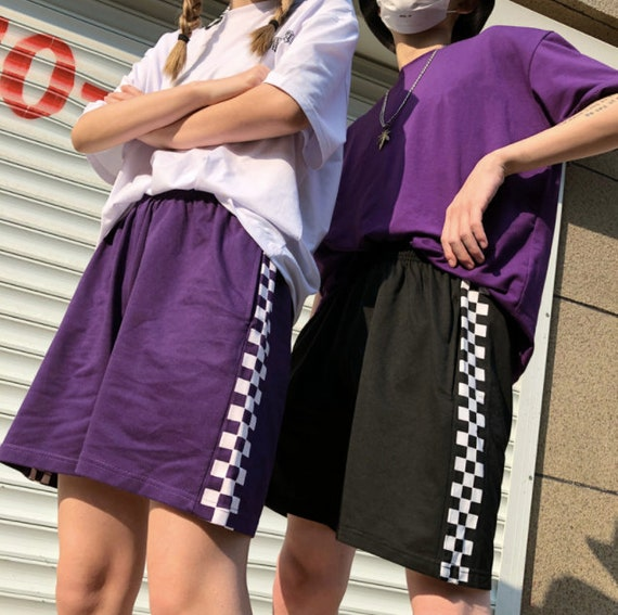 Trendy Side Stripe Summer Unisex Streetwear Vintage Shorts
